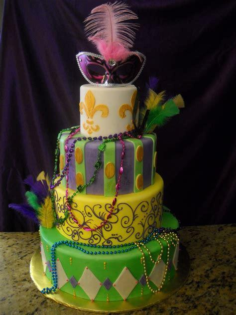 quinceanera themes mardi gras mardi gras theme cake cakecentral com