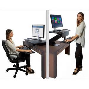 Standing Desk Adaptor by Prosumer S Choice Adjustable Height Sit To Standing Desk