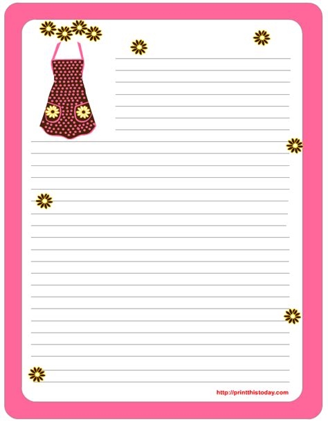 printable stationery note paper free printable stationery paper mom so she can use