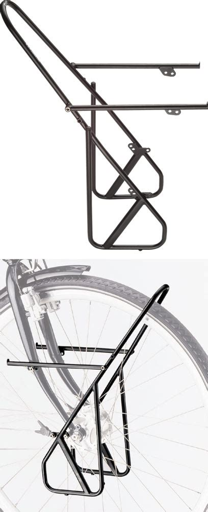 Front Lowrider Rack by Wiggle Tubus Ergo Lowrider Front Rack Pannier Racks