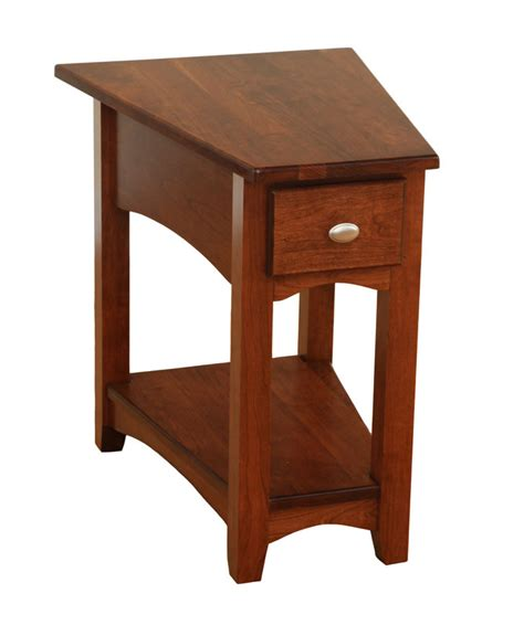Dining Room Table Leather Chairs by Modern Shaker Wedge End Table Ohio Hardword