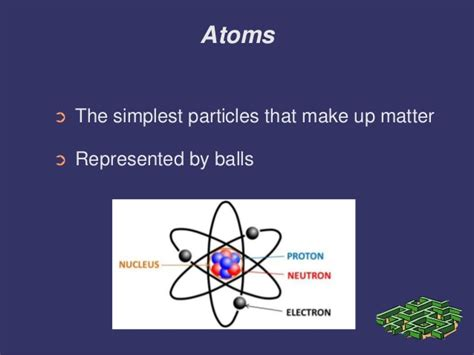 how to create matter atoms molecules elements compounds substances mixtures