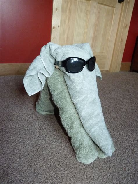 how to make a towel animal elephant sweet t makes three