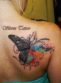 butterfly watercolor tattoo tattoo pinterest wings