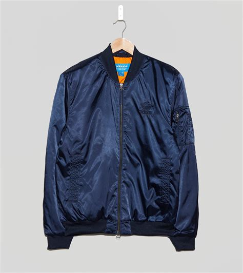 Apparel Lab Bomber Lotto Navy Blue 1 lyst adidas originals ma1 superstar bomber jacket in blue for