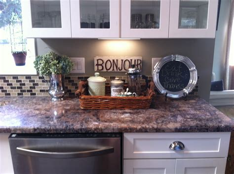 How To Decorate A Kitchen Bar by Kitchen Counter Decor A Pretty Home Is A Happy Home