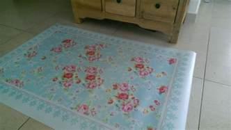 Linoleum Mat by Free Shipping Flowers Pattern Decorative Pvc Vinyl Mat