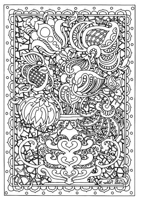 difficult coloring pages free printable free coloring page 171 coloring adult flower difficult