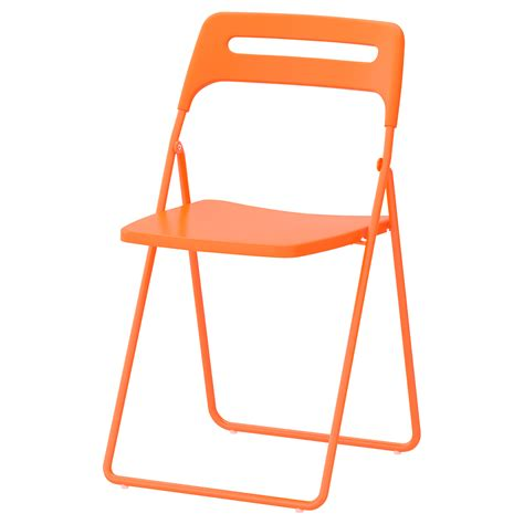 ikea folding stool nisse folding chair orange ikea