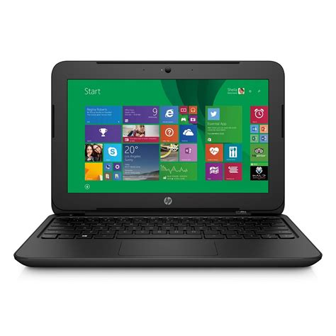 Hp Notebook 11 F006tu Black hp 11 f006tu intel celeron n2840 2gb 500gb 11 inch windows 8 1 black jakartanotebook