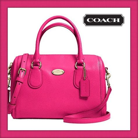 Coach Mini Bennet Nwt 59 coach handbags nwt coach quot mini quot leather satchel from hilary s closet on