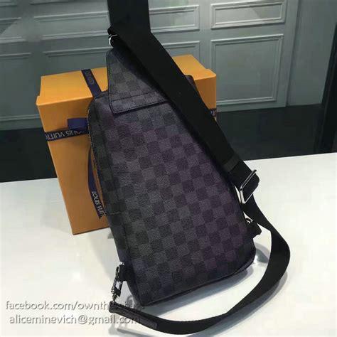 Louis Vuitton Sling Bag louis vuitton damier graphite canvas avenue sling bag n41719