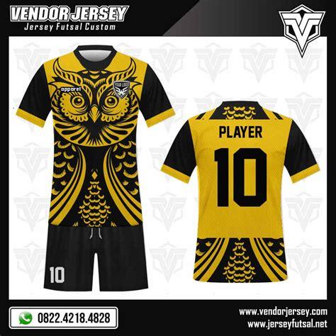 desain gambar owl desain jersey futsal owl motif burung hantu vendor