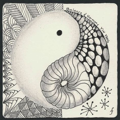pattern play zentangle 17 best images about yin yang on pinterest sun yin yang