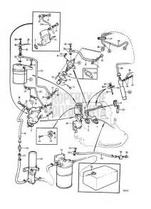 Fuel System Volvo Penta Boat 2001 Volvo Penta Exploded View Schematic Fuel System A 2002