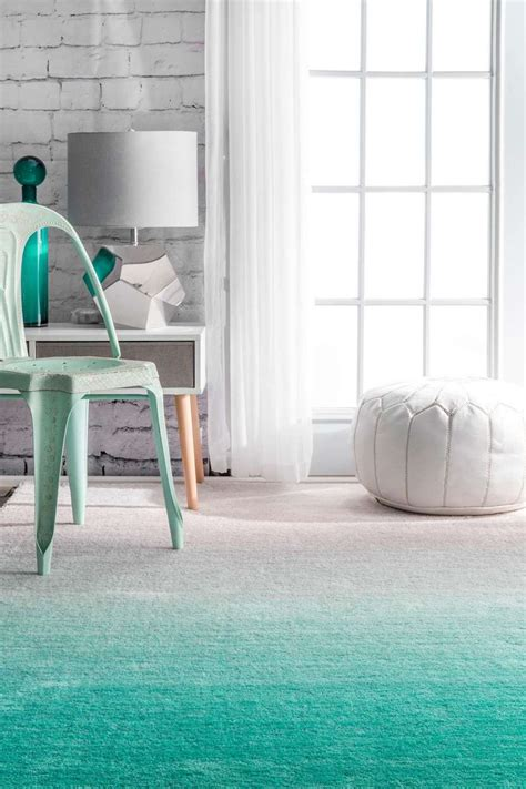 Green Ombre Rug by 12 Fabulous Ombr 233 Rugs You Ll