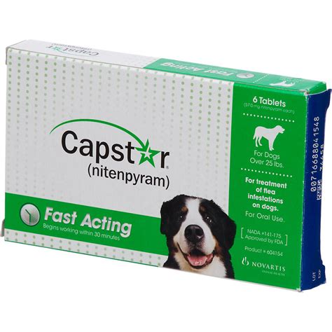 capstar for dogs capstar flea tablets for dogs 25lbs petco store
