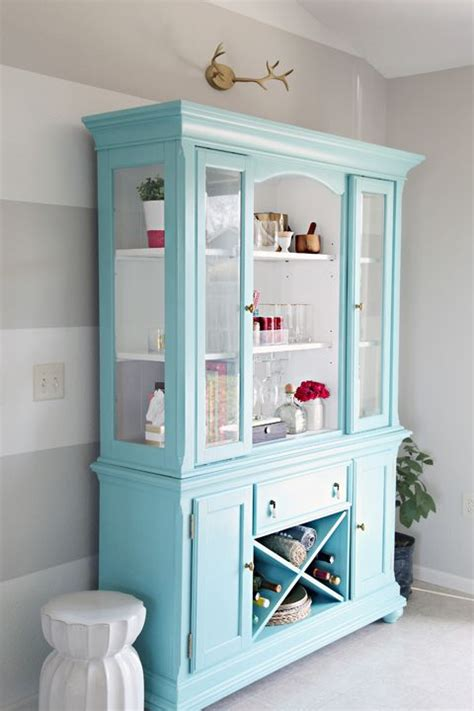 25 best china cabinet painted ideas on painted china hutch refinished china