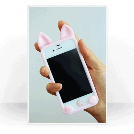 Iphone 7 Lovely Cat Lover Rivet Tassel Soft Casing Cover Bumper cat ears lovely animals iphone 4 4s 5c 5 5s 6 6p cases soft silicone iphone cases atwish
