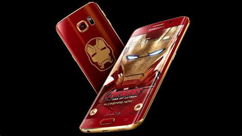 theme samsung s6 edge iron man samsung launches iron man flavored galaxy s6 edge