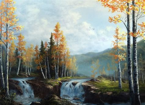 acrylic painting kevin kevin hill gallery paint with kevin