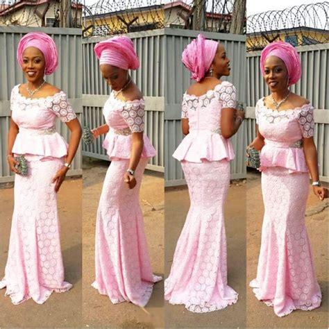 Fashion Gallery: Yomi Shabi Asoebi Look In A Million