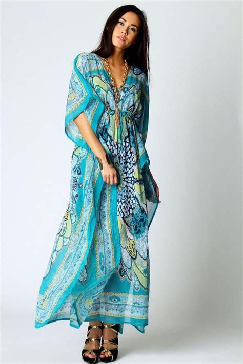 Ghislaine Ethnic Kaftan Maxi Dress kara v neck paisley print maxi kaftan dress seriously seeking such maxi dressed not aka