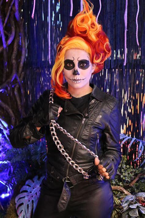 ghost rider cosplay    wig adafruit