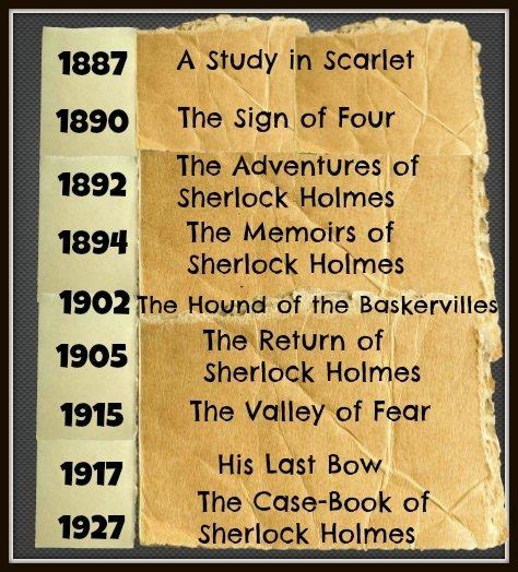 of sherlock books which is the book in the sherlock series quora