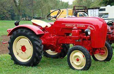 Porsche Trecker by Porsche Touch Extended To Tractors