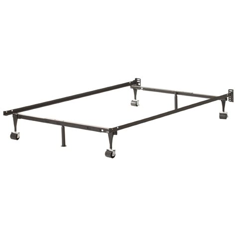 Heavy Duty Metal Bed Frame Heavy Duty 6 Leg Metal Bed Frame With Rug Rollers Fastfurnishings