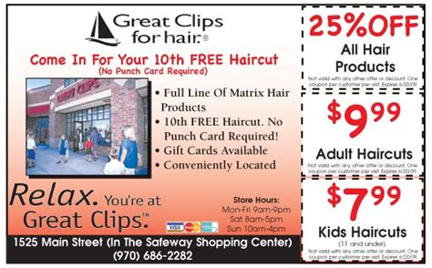 haircut coupons sarasota free printable coupons great clips coupons