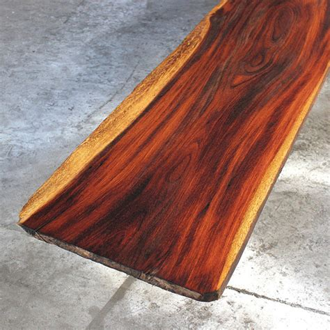 reclaimed tropical hardwood slabs