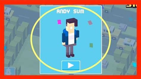 cross road how to get new mystery charter video unlock andy sum crossy road new mystery
