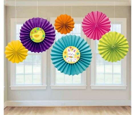 Colour Paper Crafts - 15 great ideas for easter paper crafts with the
