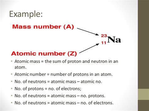 The Sum Of Protons And Neutrons by The Sum Of Protons And Neutrons Chapter 4 Atomic