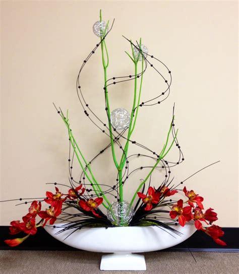 flower arrangements design contemporary orchid arangement florals floral design