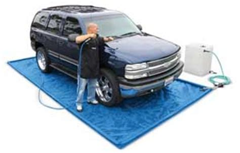 How To Wash Car Mats by Car Wash Mats And Grey Water Containment Rightlook
