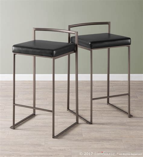 Fuji 2 Set fuji counter stool set of 2 from lumisource coleman