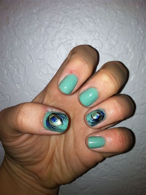 Custom Peacock305 146 best peacock nail images on peacock nail ongles and feather nails