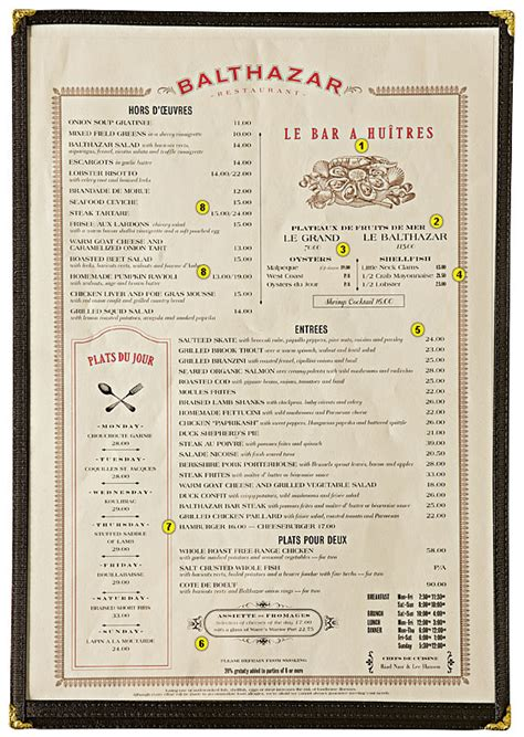 menu book design layout author william poundstone dissects the marketing tricks