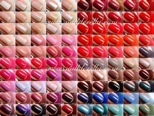 essie color chart essie nail color guide images