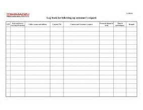 Ship Log Book Template by Warehouse Receiving Log Template Pictures To Pin On