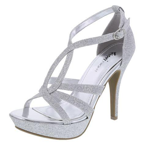 payless heels silver gold sandals heels
