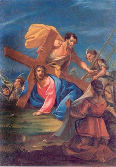 aiuto gesu a portare la croce via crucis meditata con madre speranza