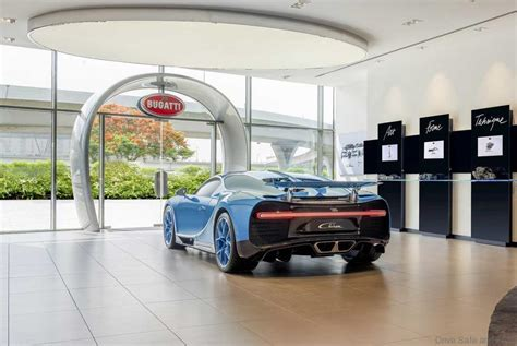 bugatti showroom bugatti opens worlds biggest car showroom with only 1