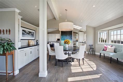 french oak flooring Living Room Traditional with custom