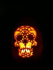 sugar skull pumpkin definitely wanna do this next