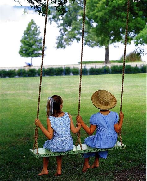 kids on swings 17 outdoor swings to make your kids happy shelterness