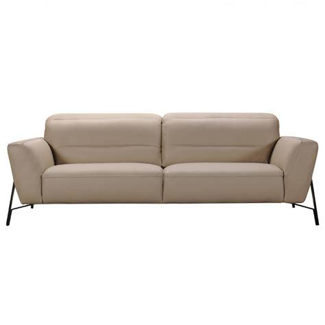 divani leather sofa divani casa evora modern taupe leather sofa chair set